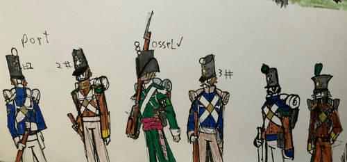 Farlander Doodles Portuguese Uniform colour's