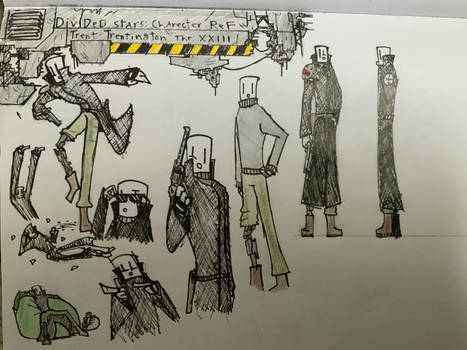 Trent Trentington the 21st: Reference Sketches