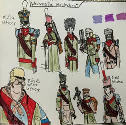 Weavosta Militia Doodles