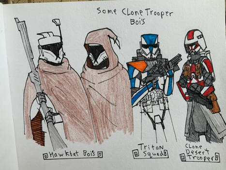 Some clone Doodles