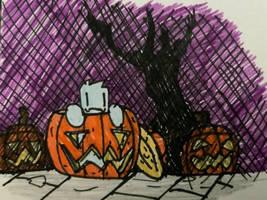 October 2020: pumpkin boi
