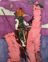 October 2020: Ace The pumkin headed horsemen