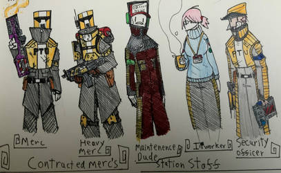 PTU Character Designs