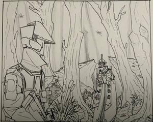 W.I.P Forest Encounter