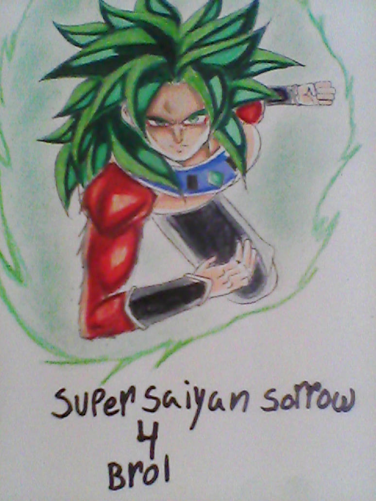 Super saiyan sorrow 4 Brol by legendarybrol