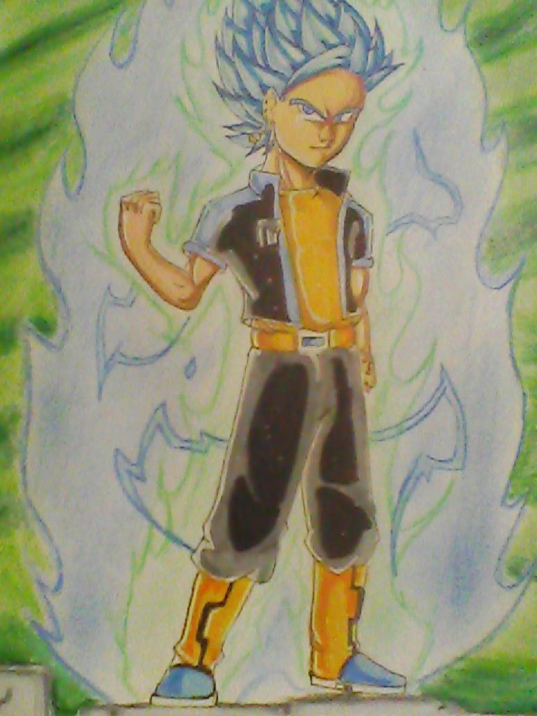 super saiyan blue rage Trurol by legendarybrol