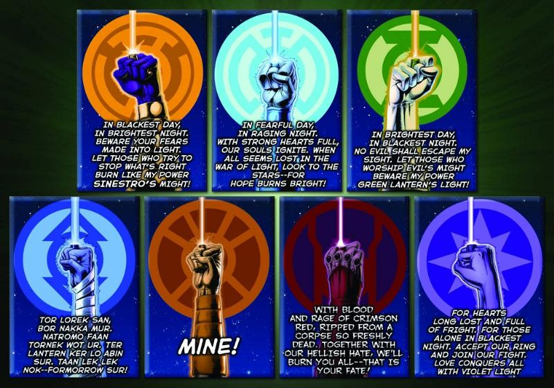 Lantern Corps Oaths by ANSEM3 on DeviantArt