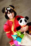 Panda Annie by fabi2988