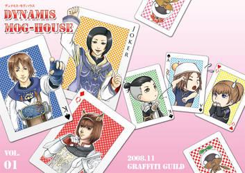 FFXI Doujinshi Cover by powertaiyou
