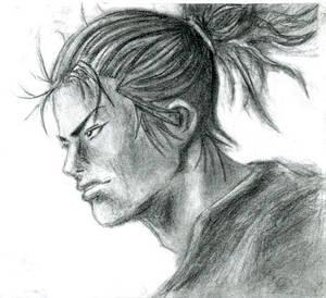 Vagabond cover sketch