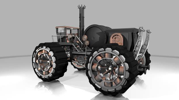 W.I.P. Steampunk Vehicle 02