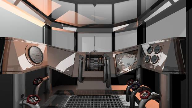 WIP Steampunk Vehicle Cockpit
