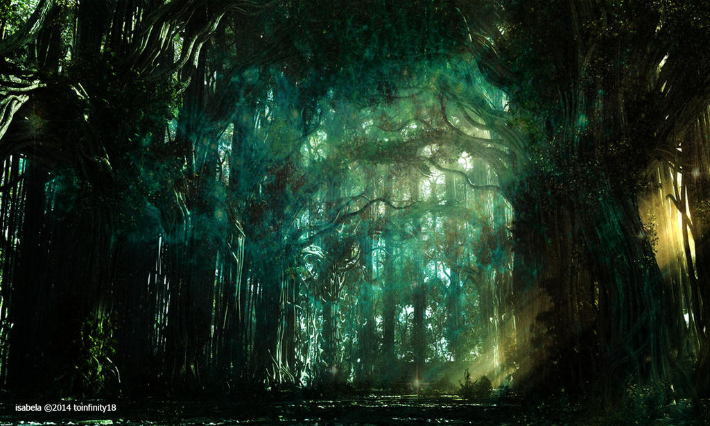 Somewhere In The Forest by toinfinity18