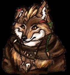 Hase - shaman wolfwoman