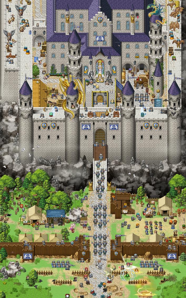 Castle Of Benevolence by SchwarzeNacht