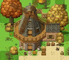 Windmill MV by SchwarzeNacht