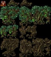 MV swamptrees by SchwarzeNacht