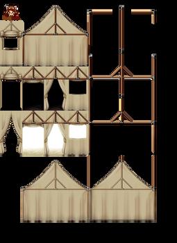 MV tent interior