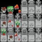 XP Tiles gravestones