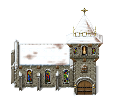 VX Ace Church 2 winter version by SchwarzeNacht