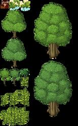 MV trees by SchwarzeNacht
