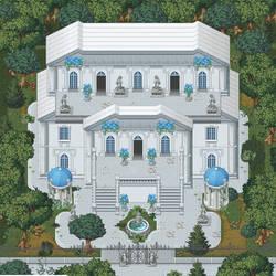 Die Villa im Wald