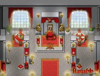 RM MV Royal AddOn Throne Room by SchwarzeNacht