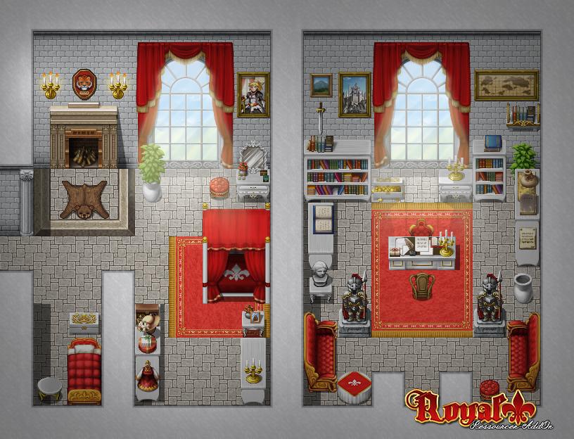 RM MV Royal AddOn Rooms by SchwarzeNacht on DeviantArt