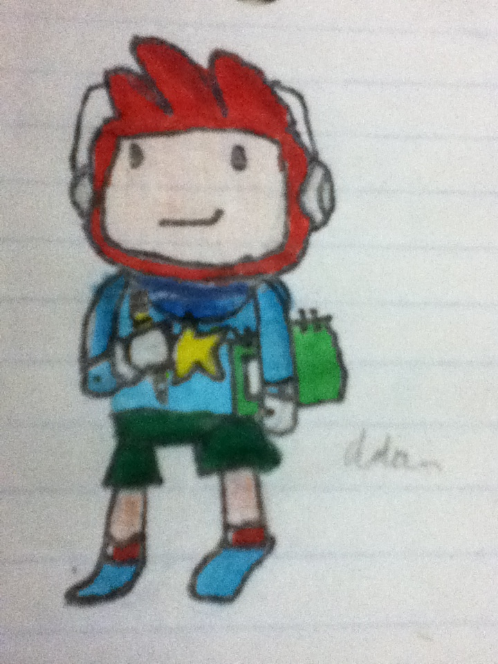 Maxwell Scribblenauts Drawing : Maxwell from scribblenauts by fadeproductions on deviantart