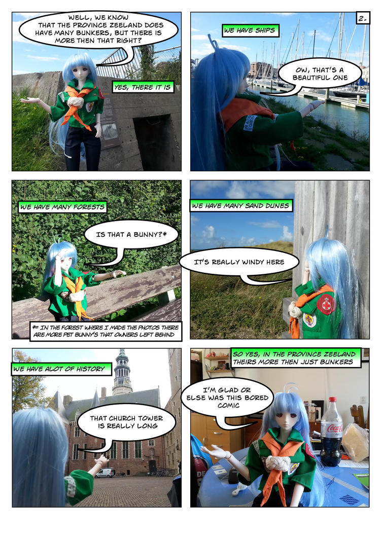 KOS-MOS, A scouting Adventure page 2 by lordsjaak