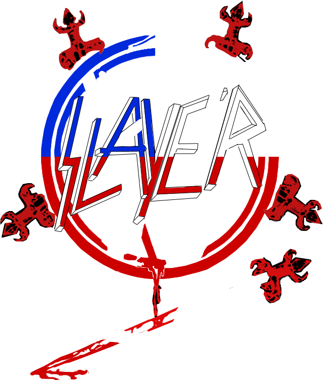 Slayer logo Chile by Remix460 on DeviantArt