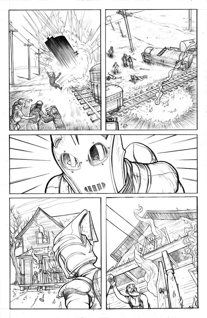 Rocketeer pencils oaks pg13 by leeoaks