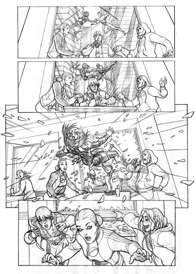 Aquaman Legion by Lee Oaks p02 by leeoaks