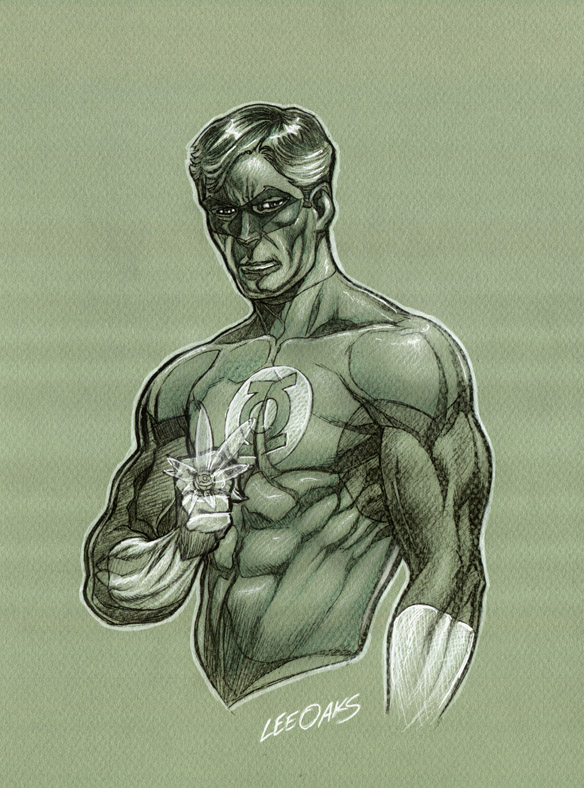 Green Lantern free comicbook day oaks by leeoaks