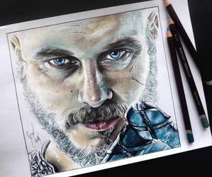 Ragnar Lothbrok by artsarak
