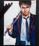 Deadly class - Marcus by artsarak