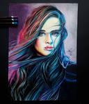 Katherine Langford by artsarak