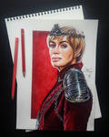 Cersei Lannister (GoT collection) by artsarak