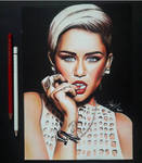 Miley Cyrus by artsarak