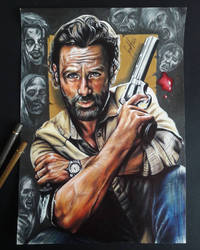 Rick (TWD collection) by artsarak