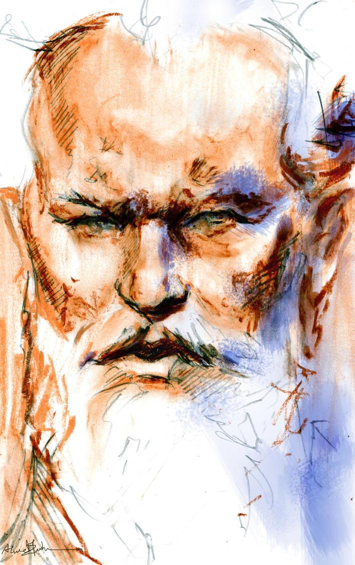 tchaikovsky by B-a-h-a-a