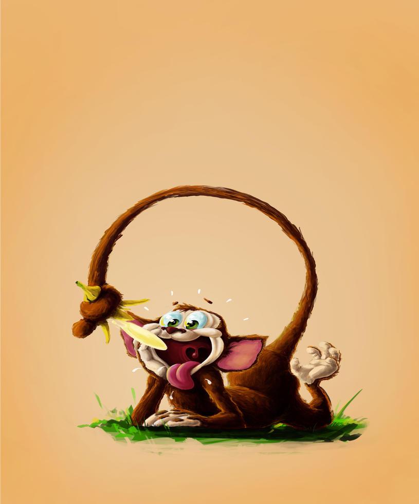 Monkey by B-a-h-a-a