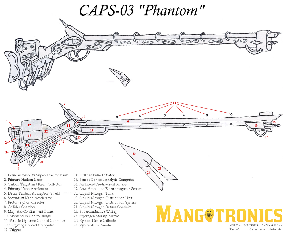 CAPS-03 'Phantom' Musket by build-the-impossible