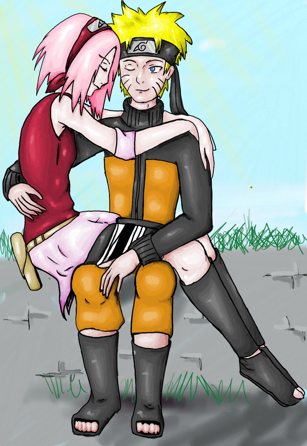 NaruSaku by Pantherlady