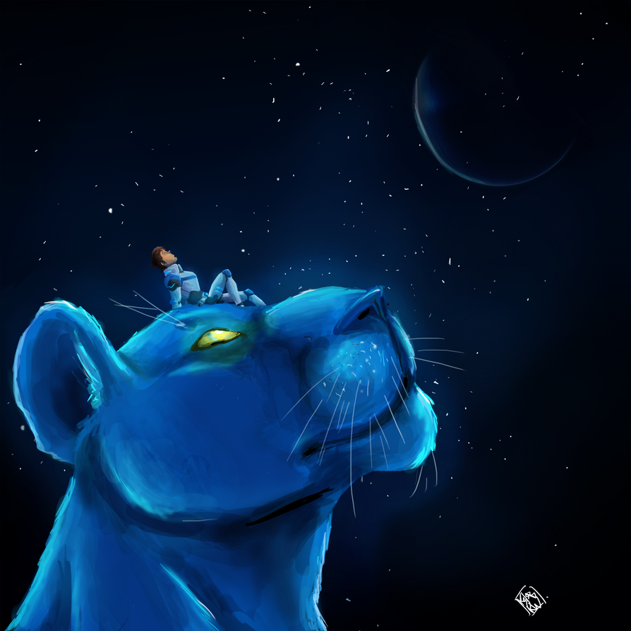 The Blue Lion by StrixMoonwing