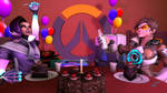 happy second birthday Overwatch by Antaktika