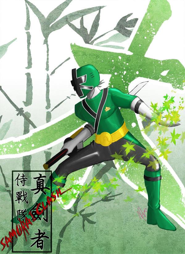 Power Rangers Samurai Green Ranger | David Simchi-Levi
