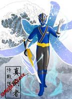 Samurai Blue by the-newKid