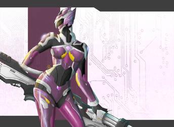 Female Metal Hero by the-newKid