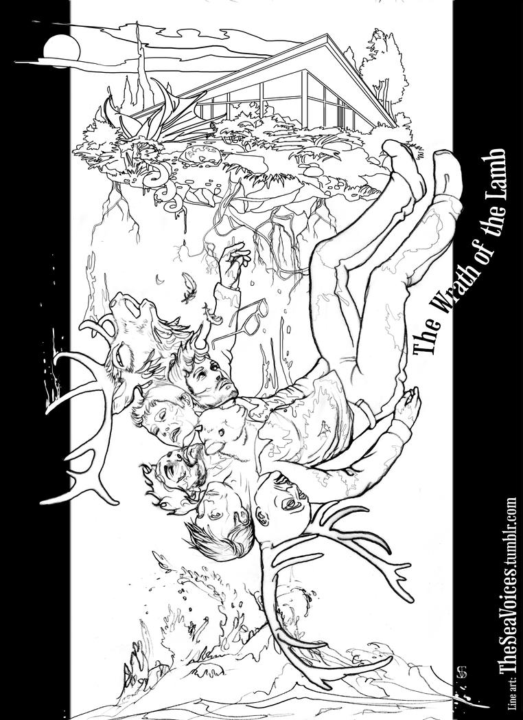Majoras wrath coloring pages ~ The Wrath of the Lamb Colouring Page by theseavoices on ...
